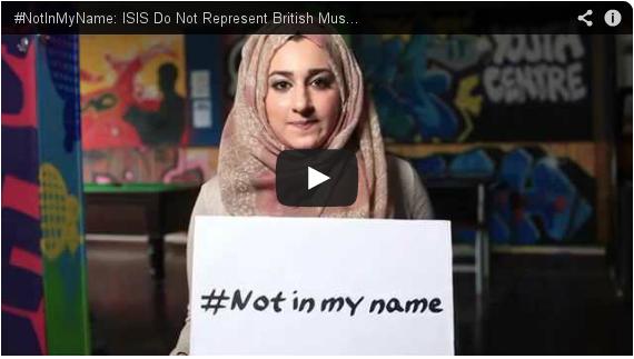 #NotInMyName : De jeunes musulmans s'opposent à l'Etat islamique