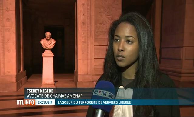 La sœur d'un djihadiste tué à Verviers a été libérée sous conditions